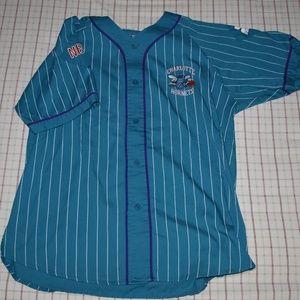 Charlotte Hornets Baseball Jersey